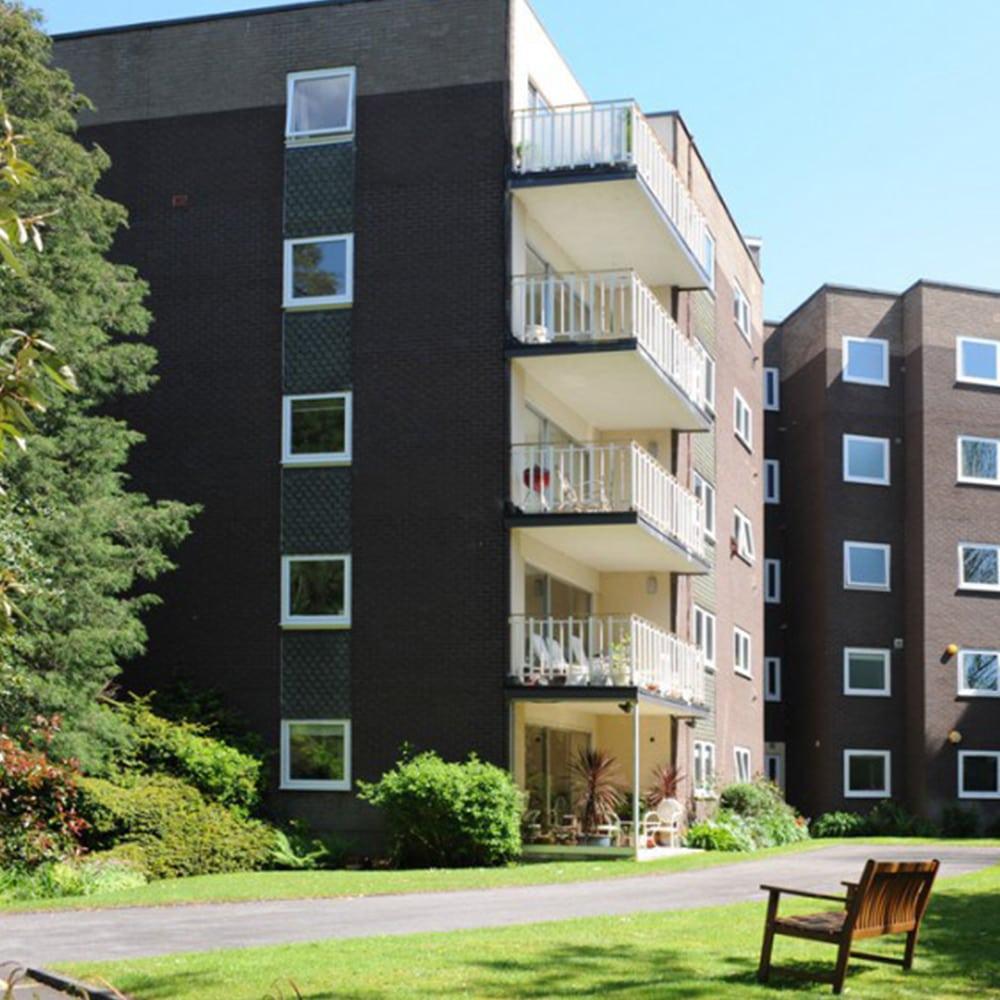 Tilt & Turn windows on a block of flats