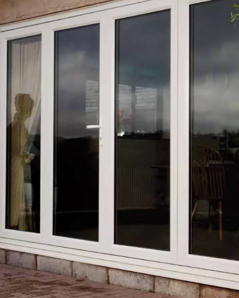 Closed Bi Folding Doors