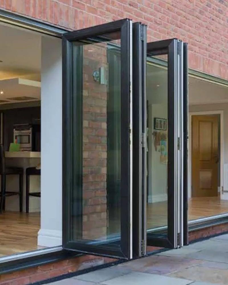 Open Bi Folding Doors