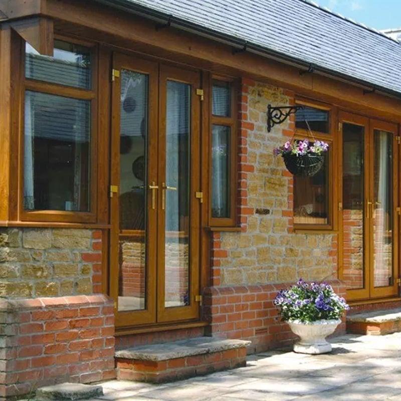 Winsor Brown French Door